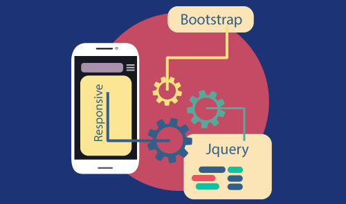 Build Modern Responsive WebSite with jQuery and Bootstrap